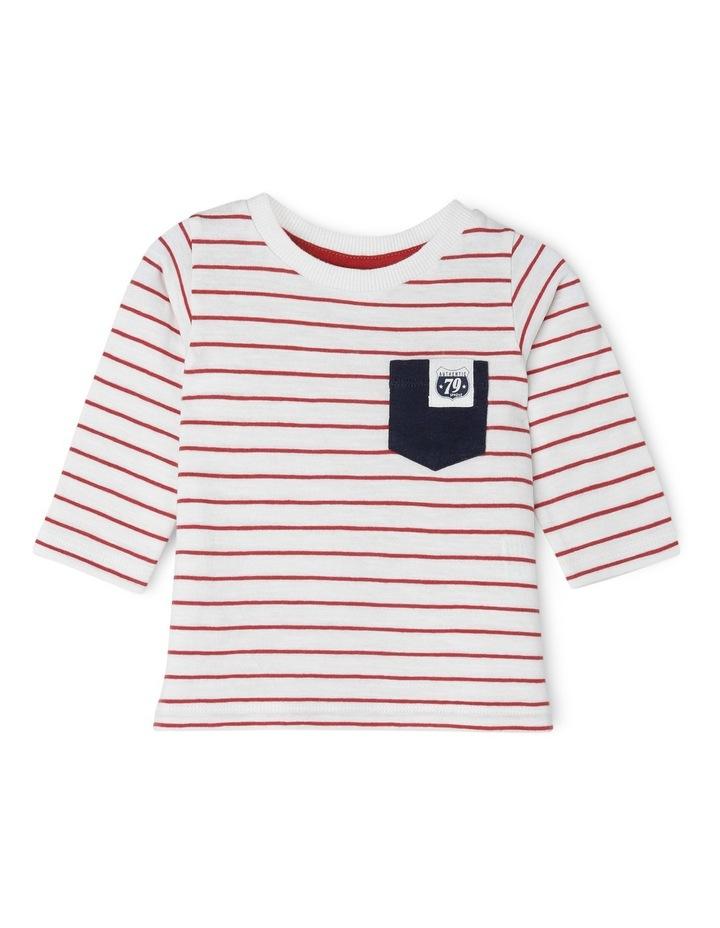 Long Sleeve Pocket T/Shirt image 1