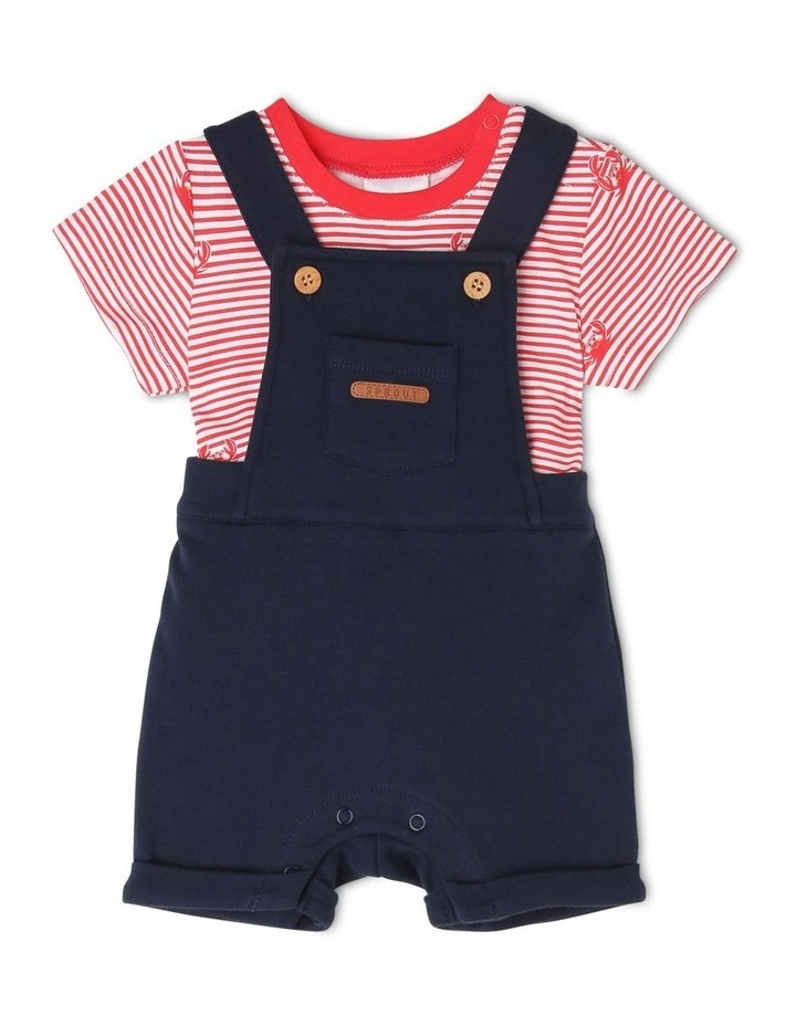 Overall Set with Patch Pockets image 1