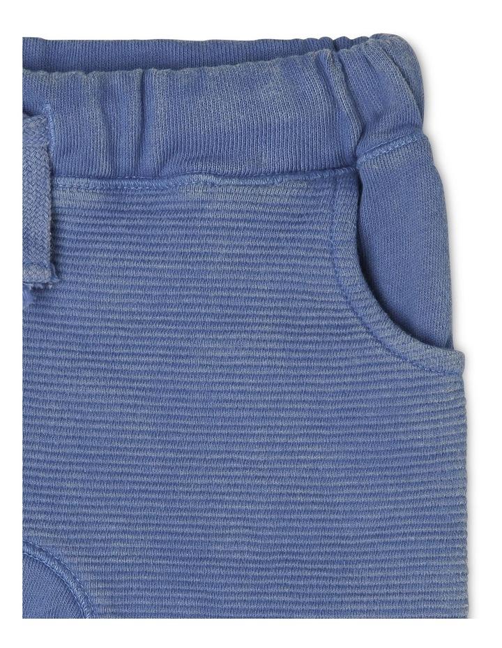 Knit Shorts with Kanga Pocket image 3