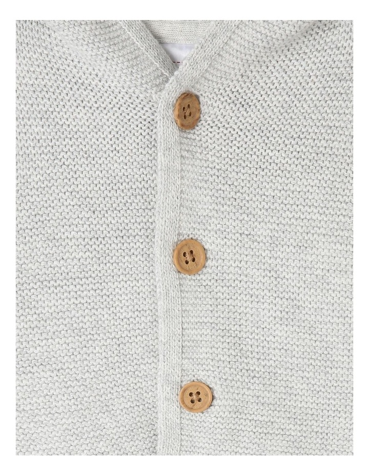Organic Cotton Knitted Cardigan image 3