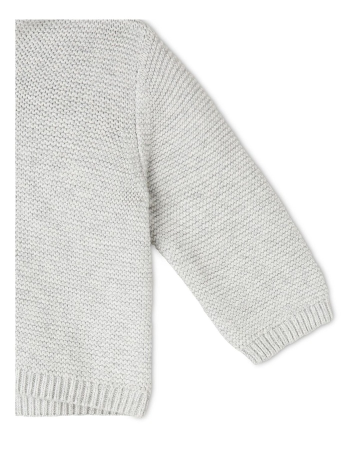 Organic Cotton Knitted Cardigan image 4