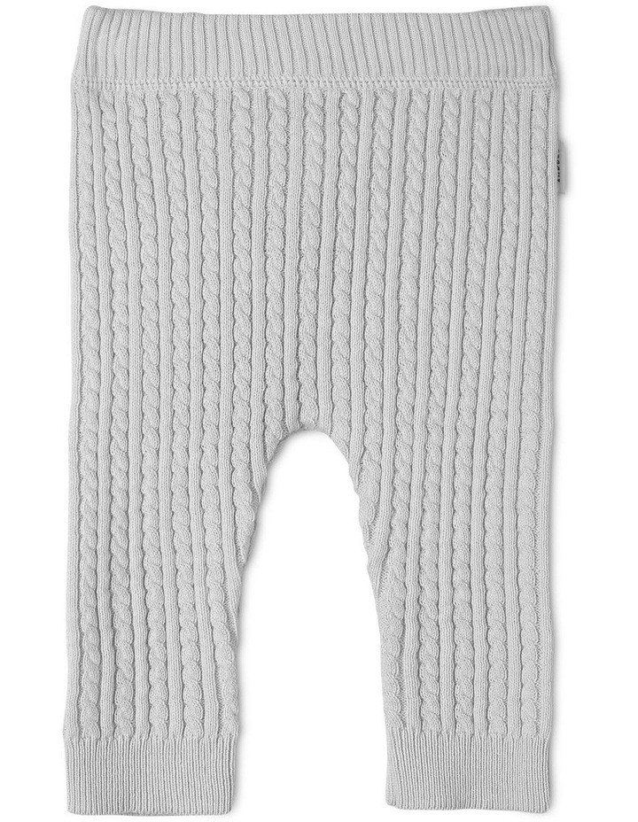 Organic Cotton Knitted Legging image 1