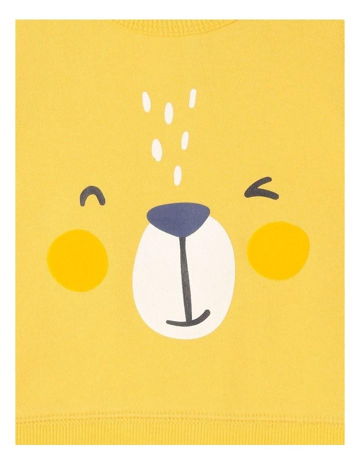 Essential Mustard Sweat Top image 2