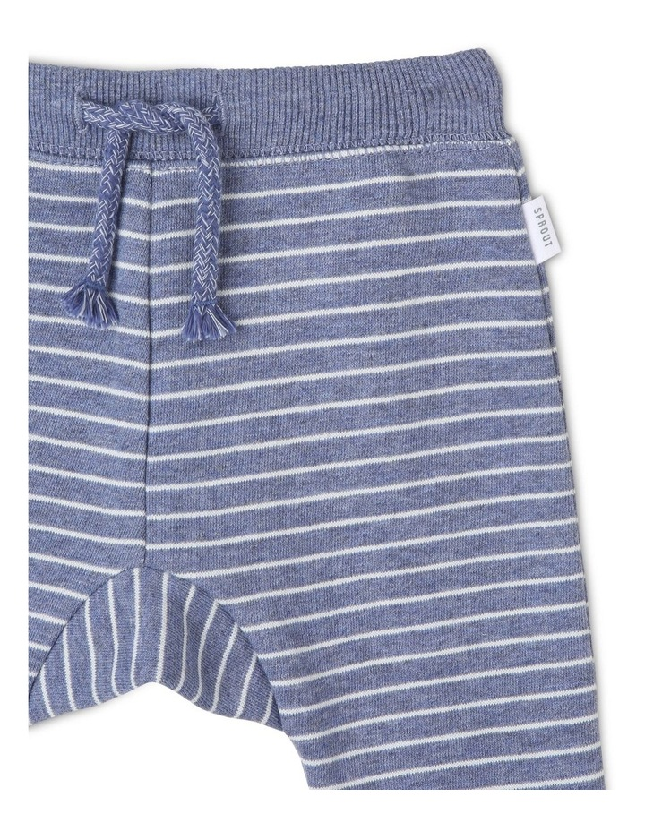 Essential Navy Striped Track-Pant image 2