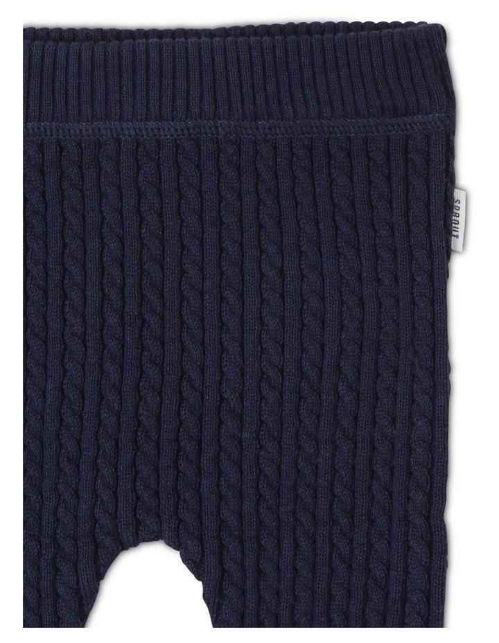 Organic Cotton Knitted Legging image 2