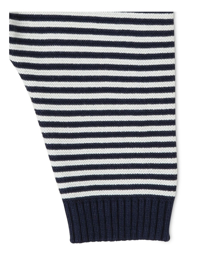 Organic Cotton Striped Knitted Legging image 3