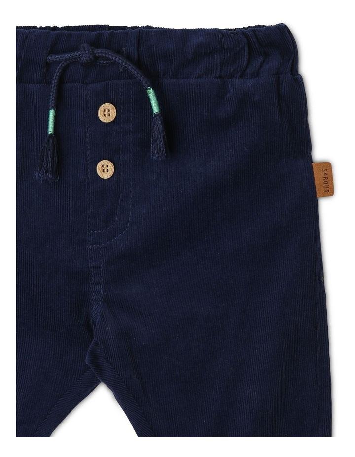 Boys Jersey-Lined Corduroy Pants image 2