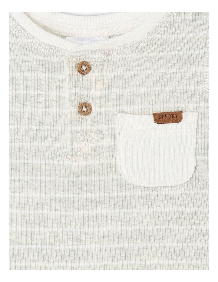 Boys Rib-Knit Henley T-Shirt image 2