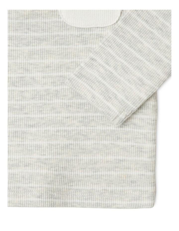 Boys Rib-Knit Henley T-Shirt image 3