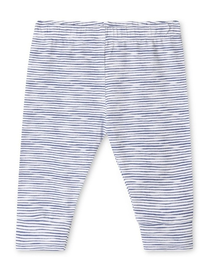 Organic Essential Stripe Leggings image 1