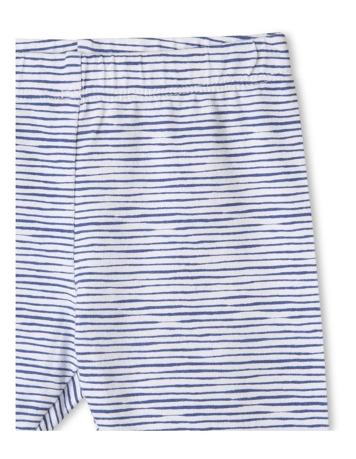 Organic Essential Stripe Leggings image 2