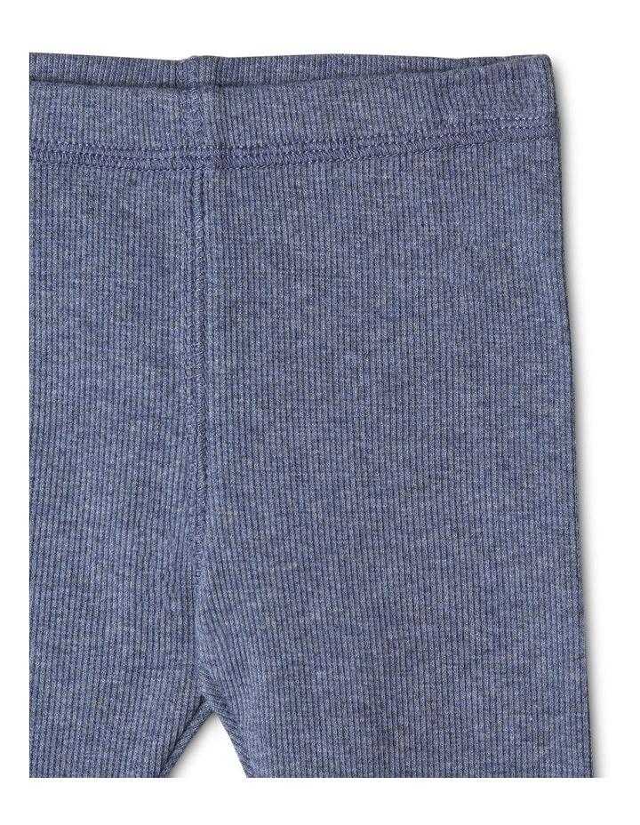 Organic Essential Rib Leggings image 2