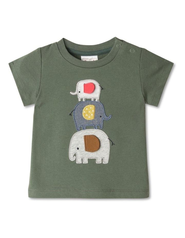 Elephunks 3D Applique T-shirt image 1