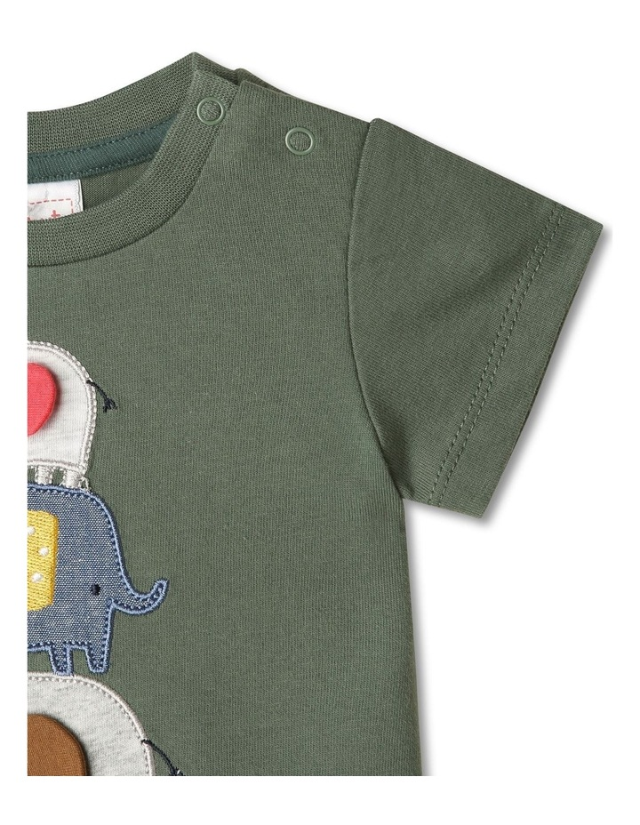 Elephunks 3D Applique T-shirt image 3