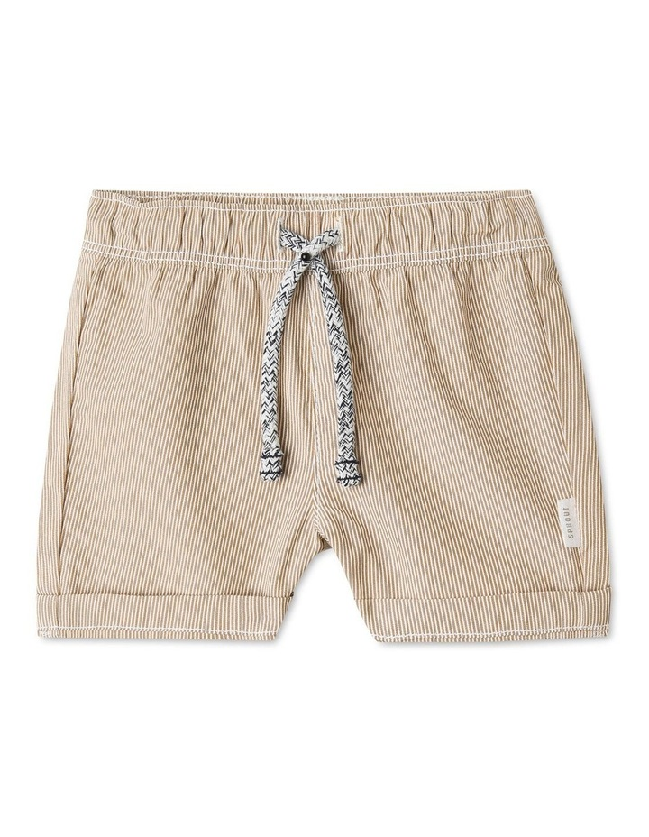 Organic Cotton Essential Stripe Shorts image 1