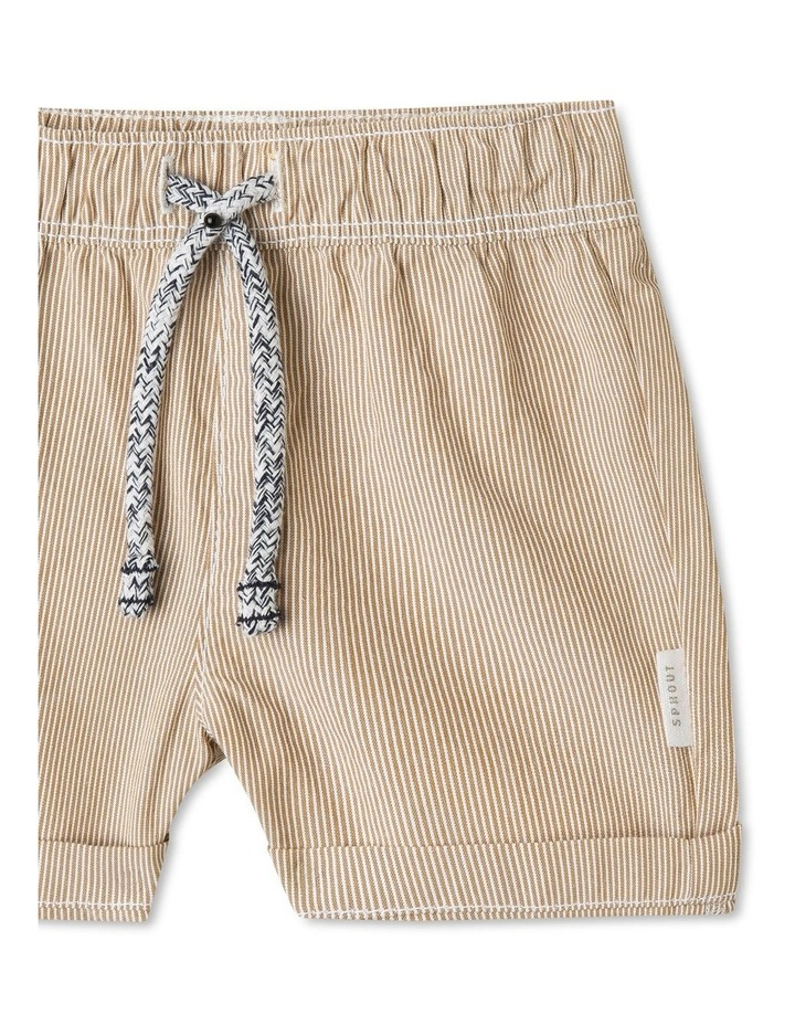 Organic Cotton Essential Stripe Shorts image 2