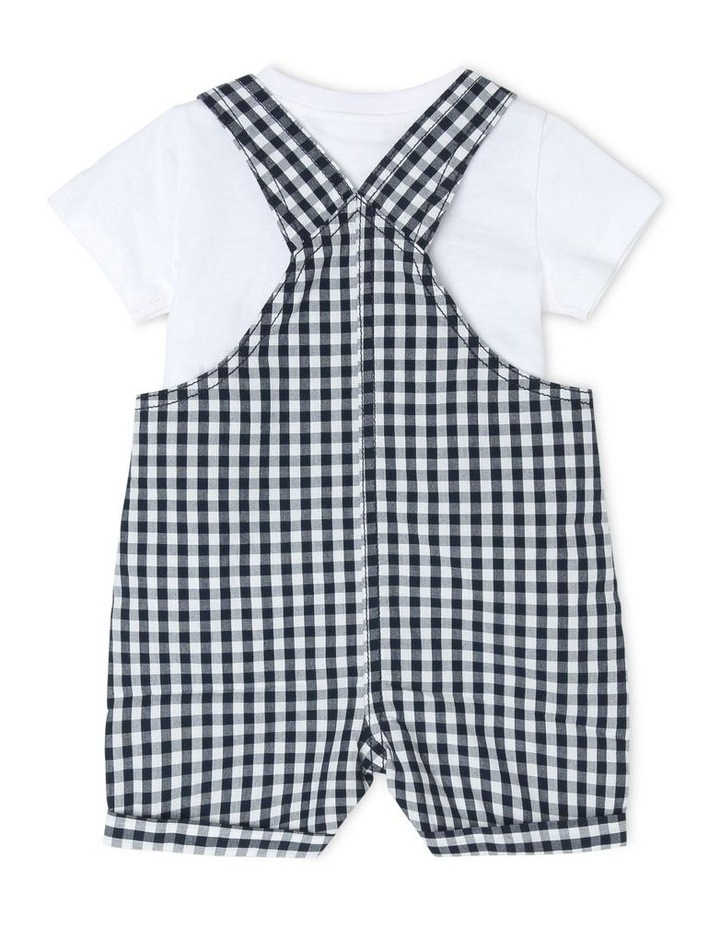 Gingham Overall Set image 2