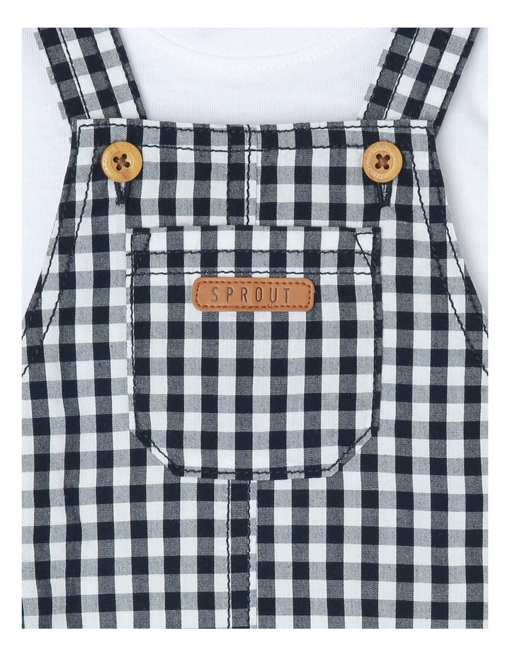 Gingham Overall Set image 4