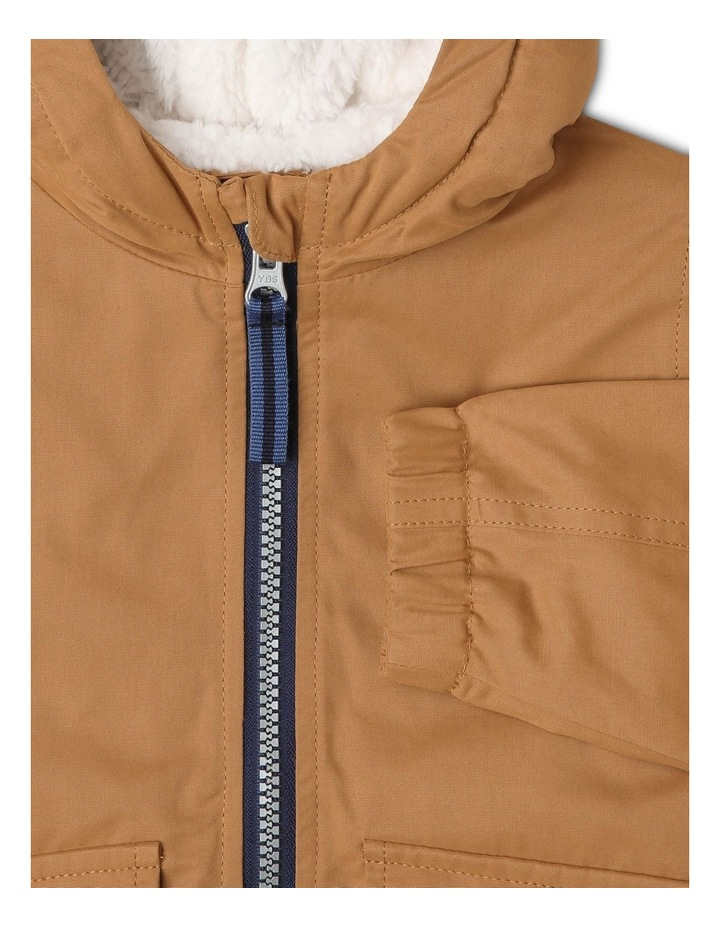 Anorak Jacket with Sherpa-Lined Hood image 3