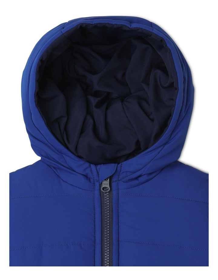 Boys Reversible Spliced Puffer Jacket image 5