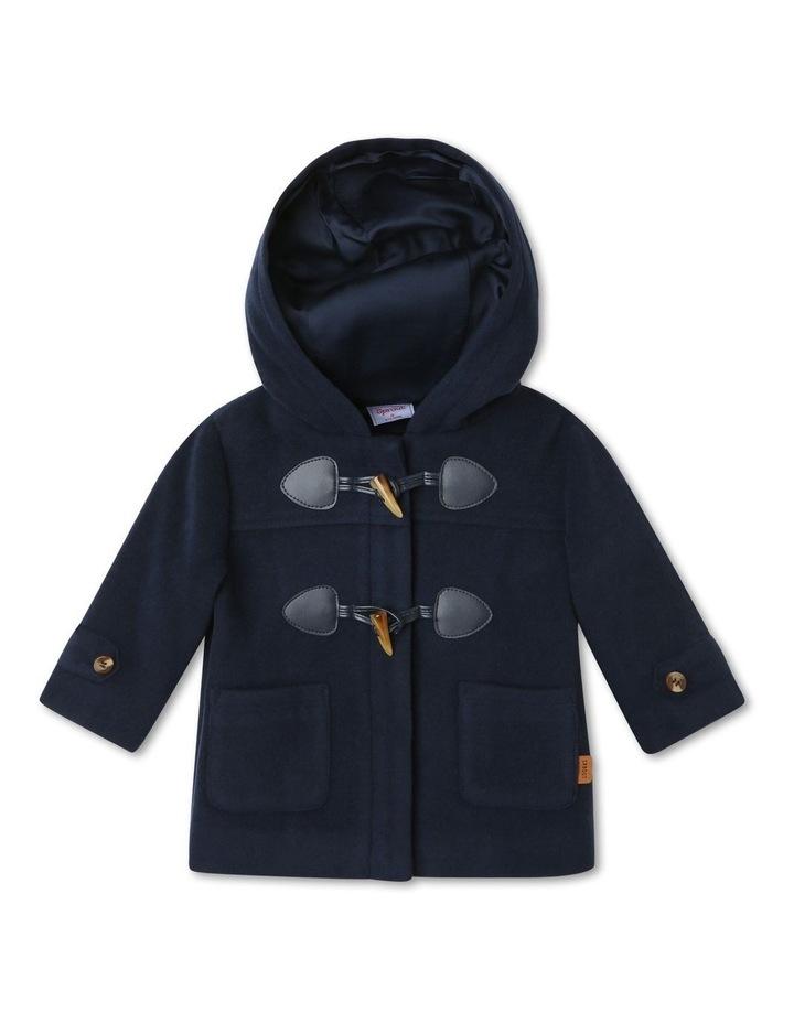 Boys Hooded Duffle Jacket image 1