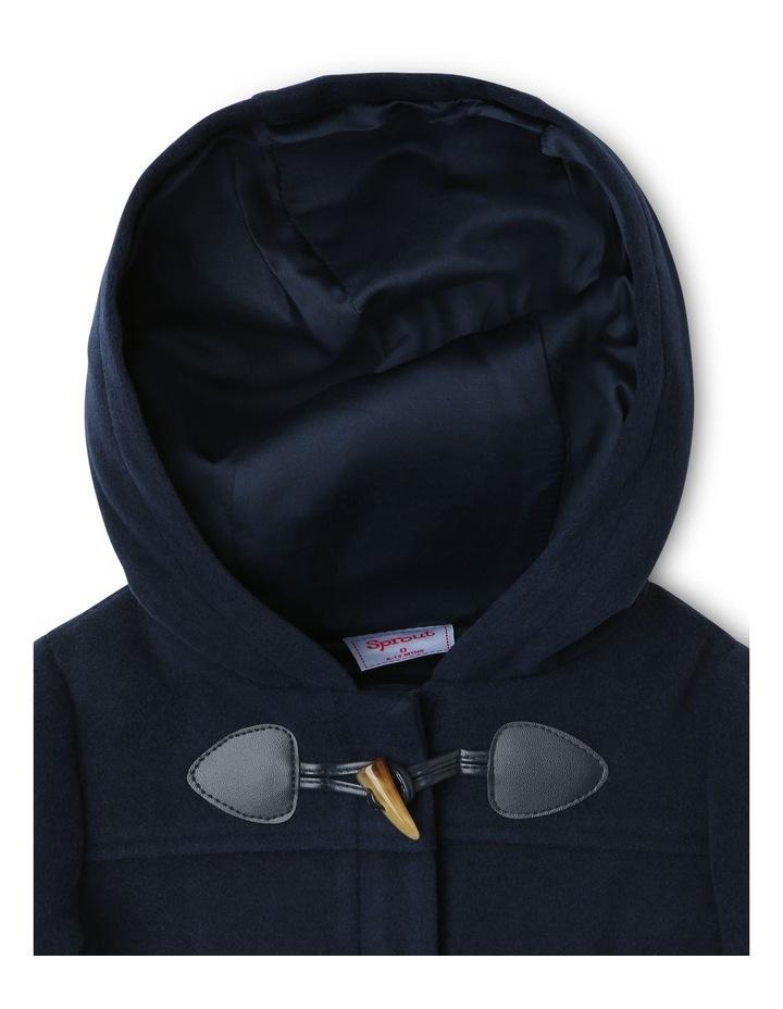Boys Hooded Duffle Jacket image 3
