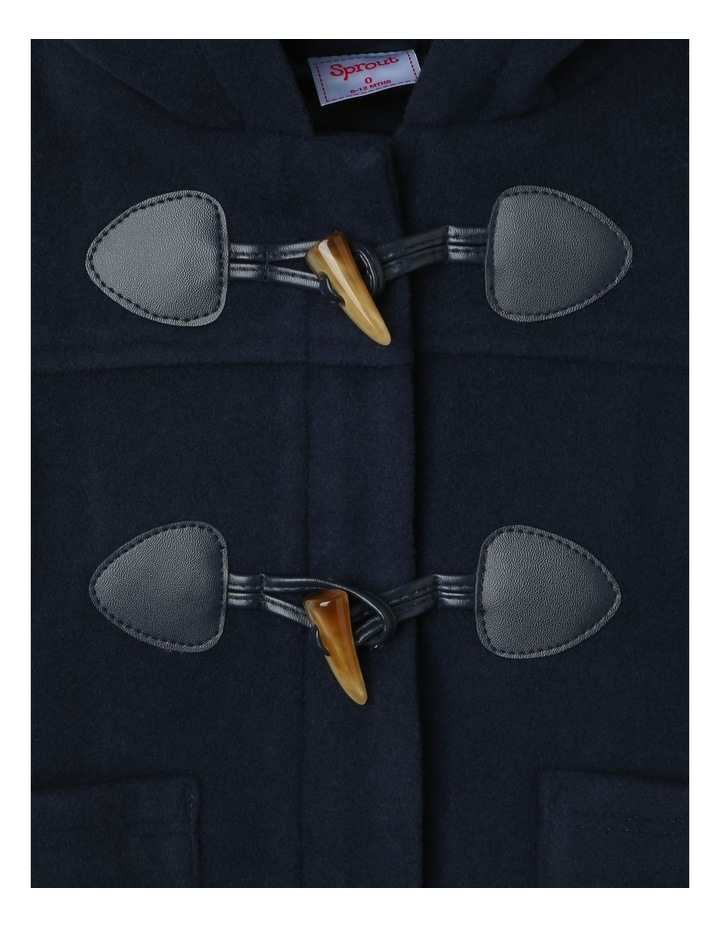 Boys Hooded Duffle Jacket image 4