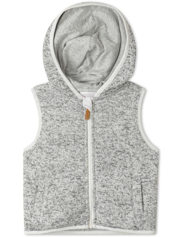 Franco Knit Hooded Vest image 1