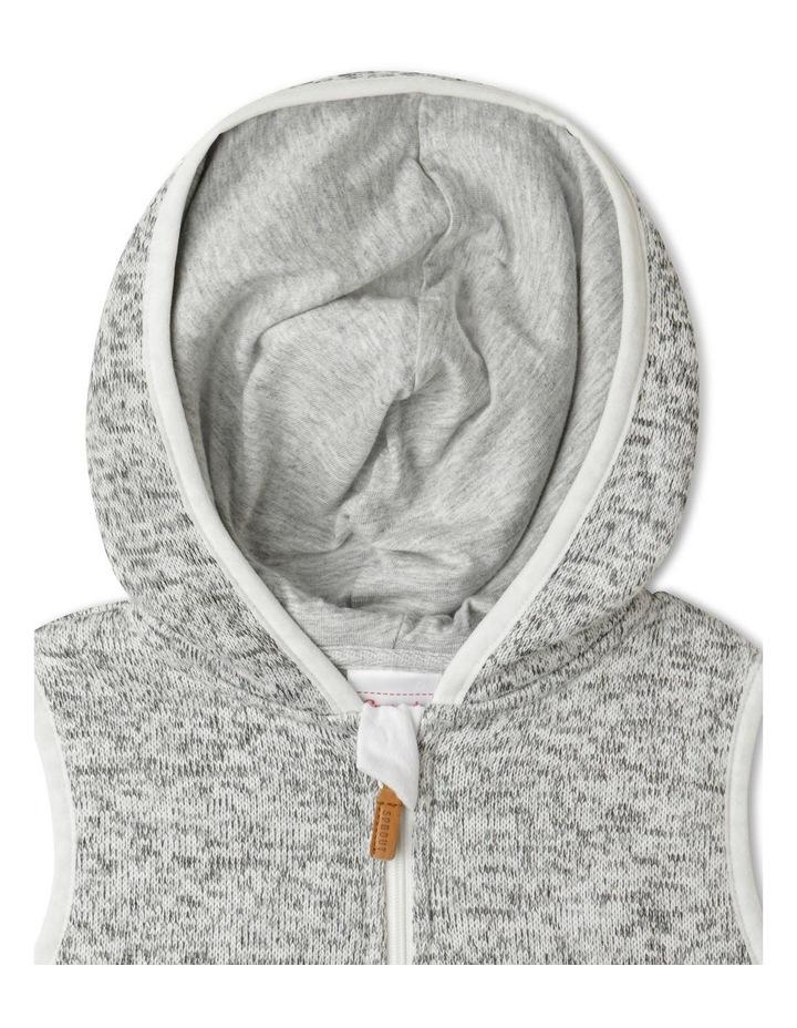 Franco Knit Hooded Vest image 2