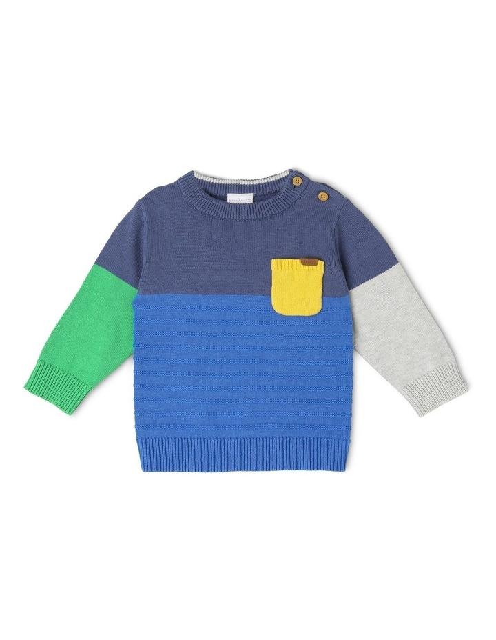 Spliced Knitwear image 1