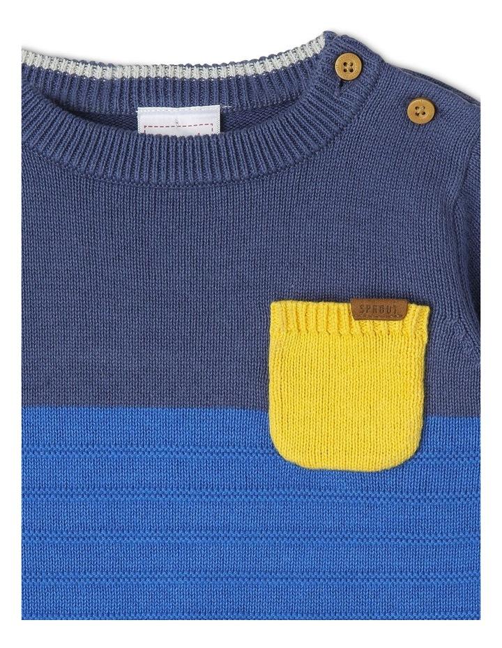 Spliced Knitwear image 2