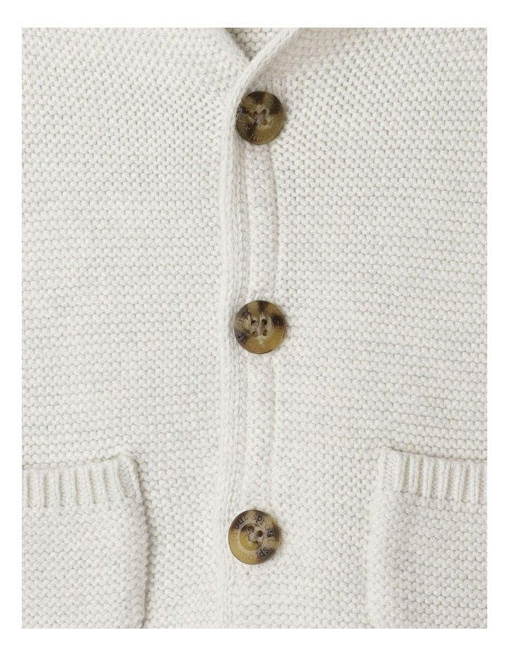Organic Knit Hood Cardigan image 5