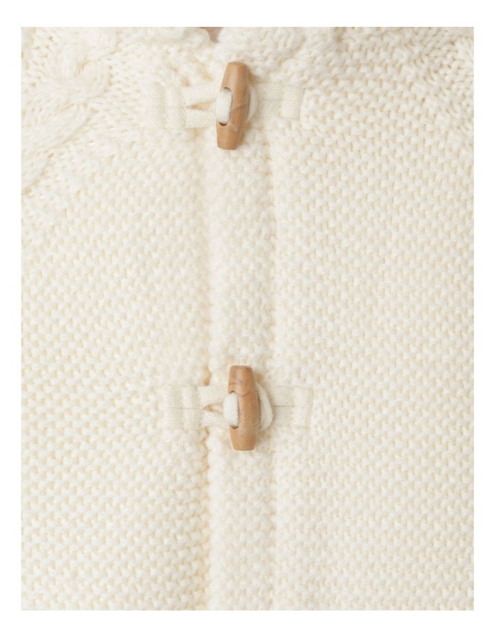 Sherpa Lined Knit Cardigan image 3