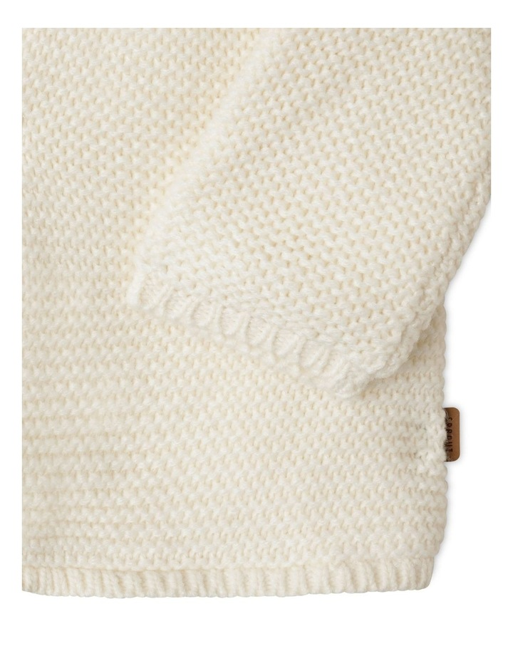 Sherpa Lined Knit Cardigan image 4