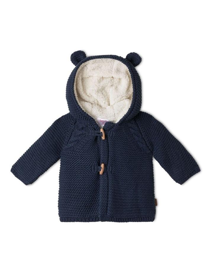 Sherpa Lined Knit Cardigan image 1