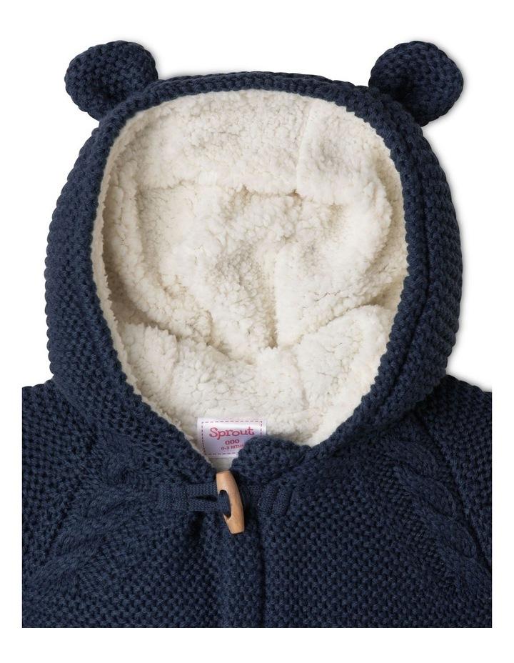 Sherpa Lined Knit Cardigan image 2