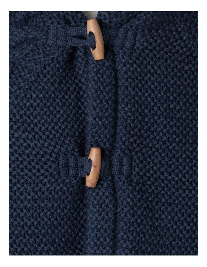Sherpa Lined Knit Cardigan image 3