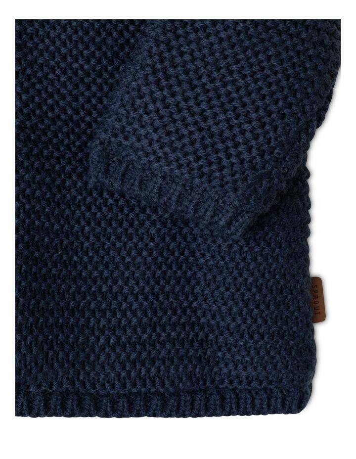 Sherpa Lined Knit Cardigan image 4