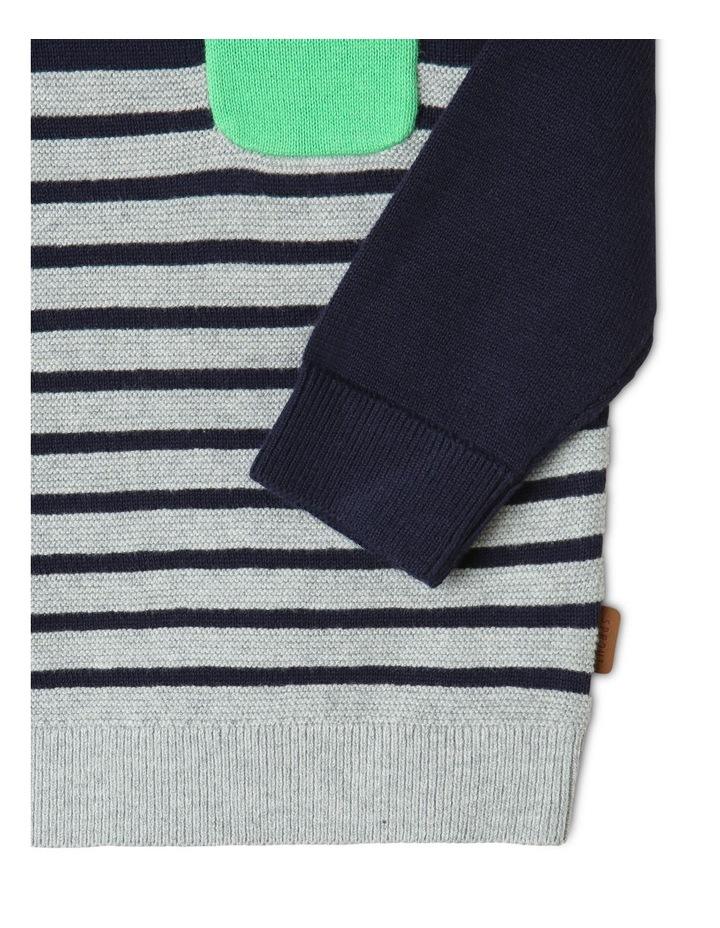 Koala Knit Jumper Navy/Gray image 3