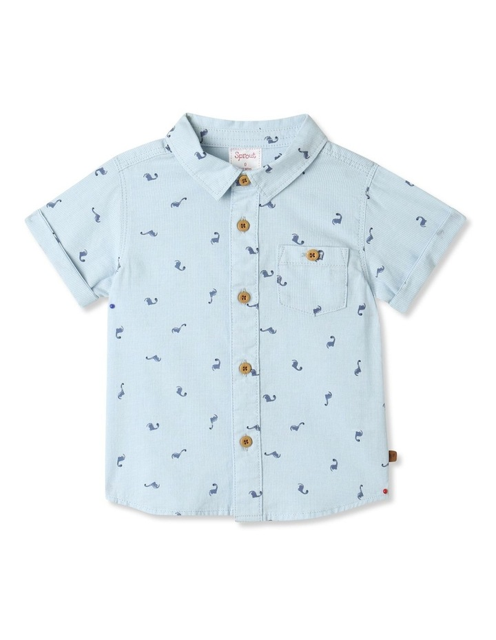 Ditsy Dino Short Sleeve Shirt image 1