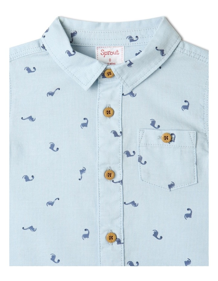 Ditsy Dino Short Sleeve Shirt image 2