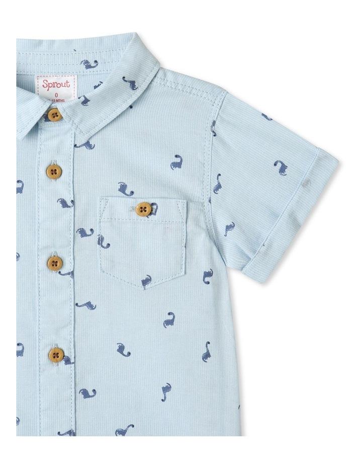 Ditsy Dino Short Sleeve Shirt image 3