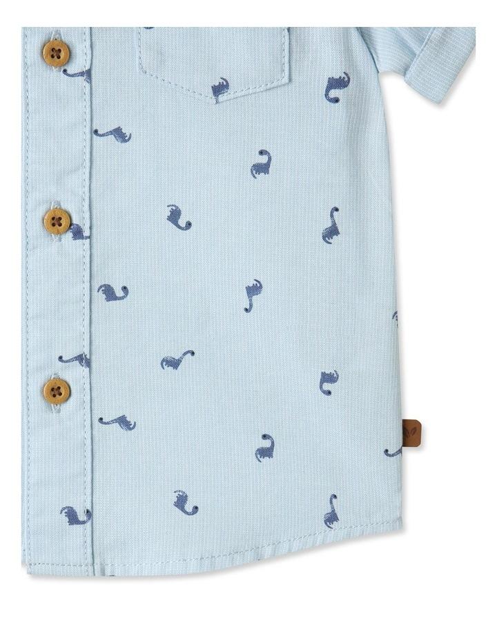 Ditsy Dino Short Sleeve Shirt image 4