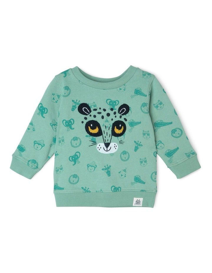 Cheetah Crew Sweat image 1
