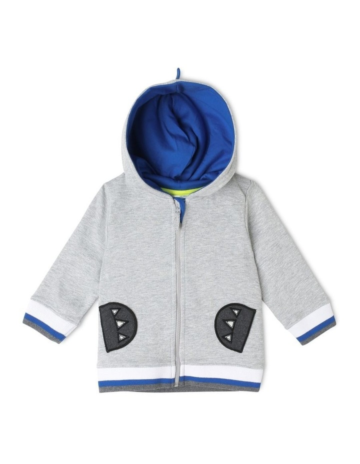 Hooded Fleece Sweat Top image 1