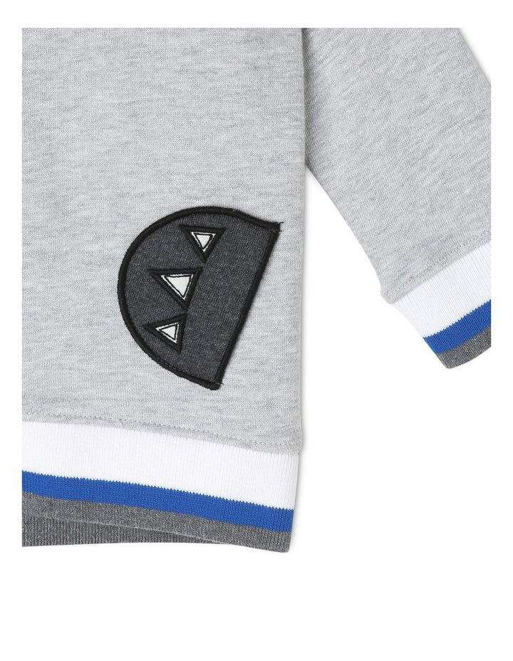 Hooded Fleece Sweat Top image 4