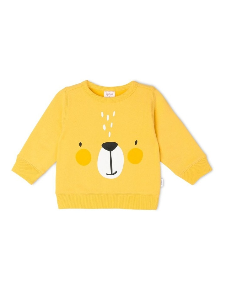 Essential Mustard Sweat Top image 1
