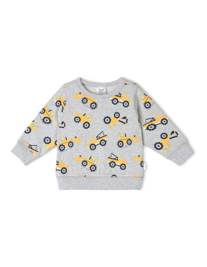 Boys Essential Printed Sweat-Top image 1