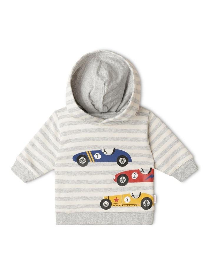 Organic Essential Race Cars Hoodie image 1