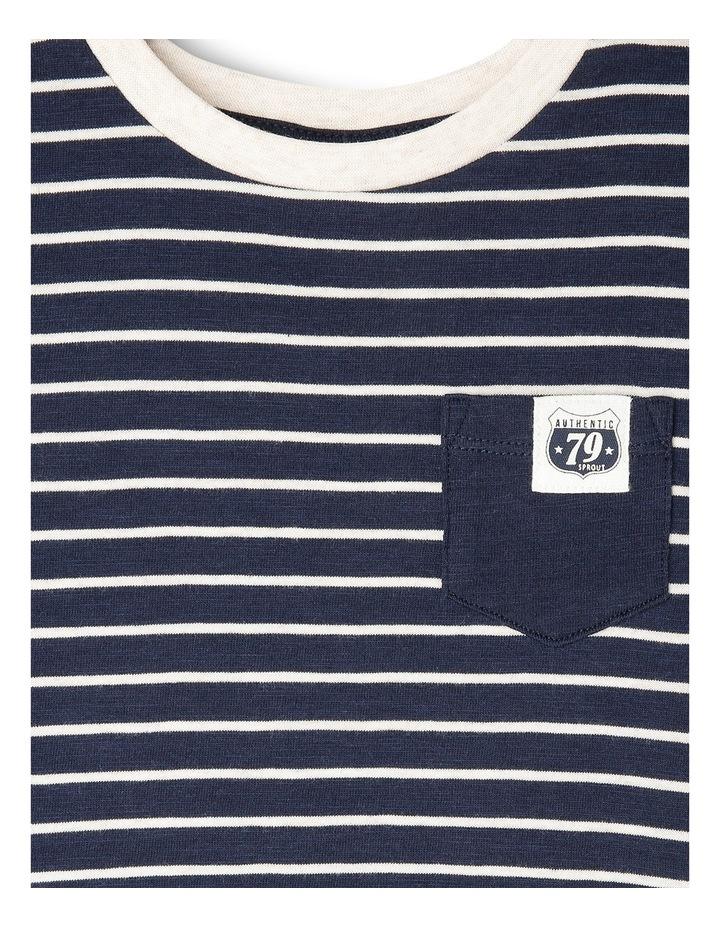 Long Sleeve Pocket T/Shirt image 2